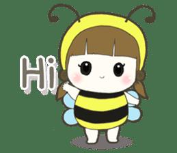 Haru little bee sticker #13119310
