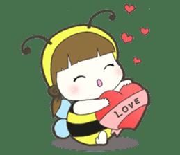 Haru little bee sticker #13119313