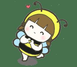 Haru little bee sticker #13119314