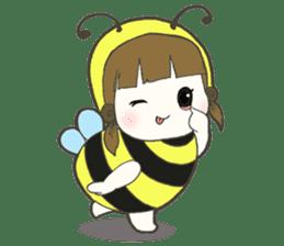 Haru little bee sticker #13119318