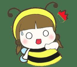Haru little bee sticker #13119319