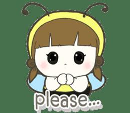 Haru little bee sticker #13119320
