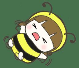 Haru little bee sticker #13119323