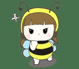 Haru little bee sticker #13119324