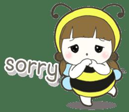 Haru little bee sticker #13119325