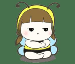 Haru little bee sticker #13119326
