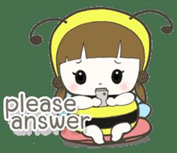 Haru little bee sticker #13119328