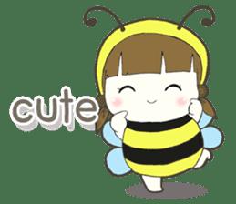 Haru little bee sticker #13119333