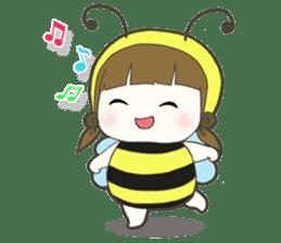 Haru little bee sticker #13119334