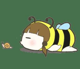 Haru little bee sticker #13119336