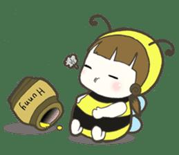 Haru little bee sticker #13119339