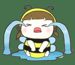 Haru little bee sticker #13119341