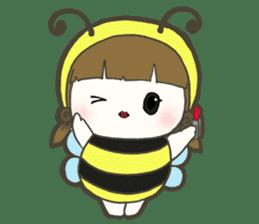 Haru little bee sticker #13119342