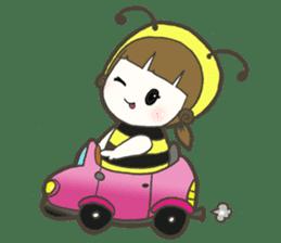 Haru little bee sticker #13119343