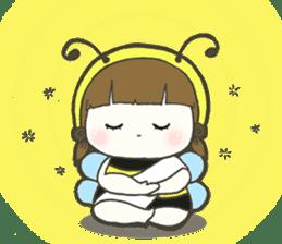 Haru little bee sticker #13119344