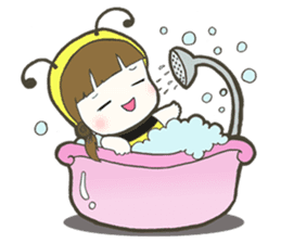 Haru little bee sticker #13119346