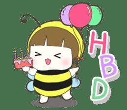 Haru little bee sticker #13119347