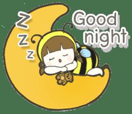 Haru little bee sticker #13119348