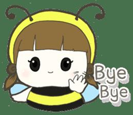 Haru little bee sticker #13119349