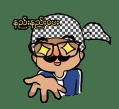 Zawgyi and Oo Shwe Yo (Myanmar/Burma) sticker #13122907