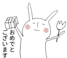 Usagi sticker satomo sticker #13123560