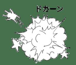 Usagi sticker satomo sticker #13123563