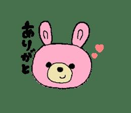 Kuma&Usa Stickers sticker #13125756