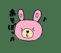 Kuma&Usa Stickers sticker #13125758