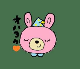 Kuma&Usa Stickers sticker #13125762