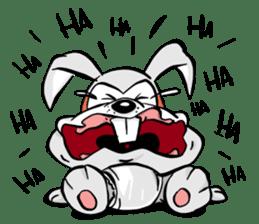 Baby Rabbit Superhero sticker #13126693