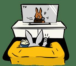 Baby Rabbit Superhero sticker #13126701