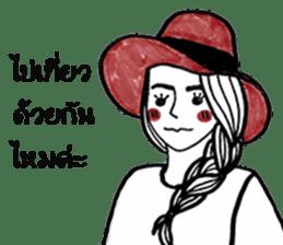 Paipakka Hips girl sticker #13132135