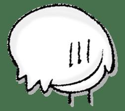 Komyushou chicken 2 sticker #13137978