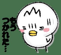 Komyushou chicken 2 sticker #13137988