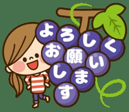 Kawashufu [autumn] sticker #13143321