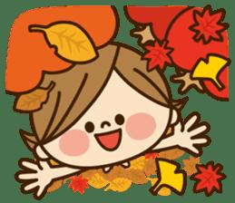 Kawashufu [autumn] sticker #13143329
