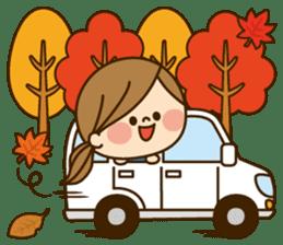 Kawashufu [autumn] sticker #13143332