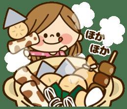 Kawashufu [autumn] sticker #13143333