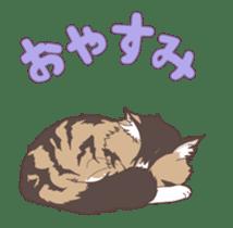 Cat full stickers for cat lover 2 sticker #13147496