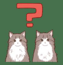 Cat full stickers for cat lover 2 sticker #13147503