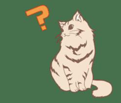 Cat full stickers for cat lover 2 sticker #13147504