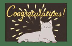 Cat full stickers for cat lover 2 sticker #13147514
