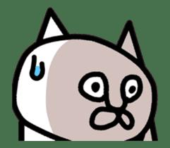 Animation vulgar cat-ish guy sticker #13147986