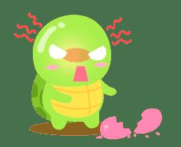 Tarty Turtle Animated sticker #13148145