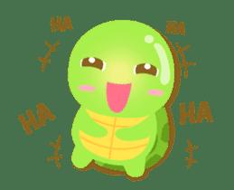 Tarty Turtle Animated sticker #13148146