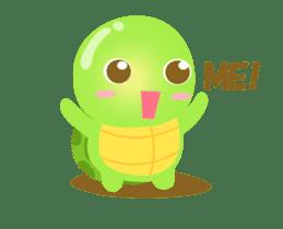 Tarty Turtle Animated sticker #13148153
