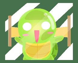 Tarty Turtle Animated sticker #13148158