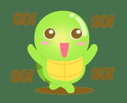 Tarty Turtle Animated sticker #13148161