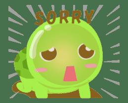 Tarty Turtle Animated sticker #13148164