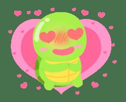 Tarty Turtle Animated sticker #13148165